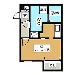 Branche葵[4階]の間取り