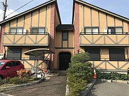 兵庫県姫路市飾磨区英賀西町2丁目の賃貸アパートの外観