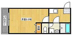 グランドアマレーIII番館[1階]の間取り