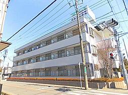 埼玉県川口市南鳩ヶ谷6-の賃貸マンションの外観