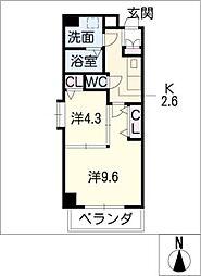 ベル・プラウド名駅[3階]の間取り