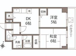 ラジャコート[2階]の間取り
