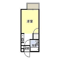 アオキハイツI[A101号室]の間取り