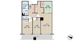 ザ・千里タワー[36階]の間取り