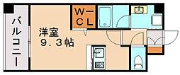 エンクレスト博多駅東II[8階]の間取り