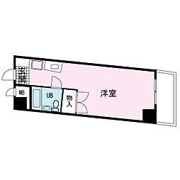 ブックベース[0405号室]の間取り
