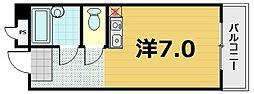 ニュー石山寺マンション[1階]の間取り