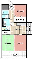 第5共立ビル[804号室]の間取り