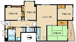 武庫之荘駅 9.8万円