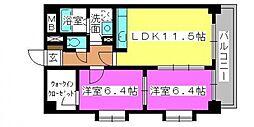 エスペーロ桜台[301号室号室]の間取り