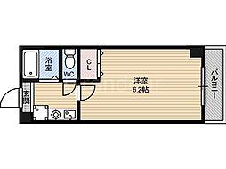 グランベール鶴見[4階]の間取り