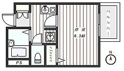 プレール東麻布[3階]の間取り
