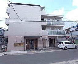京都府京都市右京区嵯峨野清水町の賃貸マンションの外観