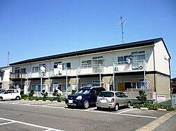 岐阜県羽島郡笠松町長池の賃貸アパートの外観