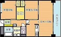 ラフィーネ20[2階]の間取り