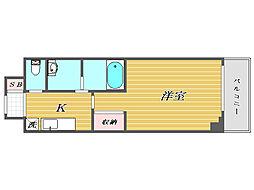 N-stage南鳩ヶ谷[2階]の間取り