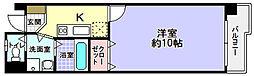 ロベリアコート[4階]の間取り