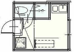 グランドスタジオ与野本町[2階]の間取り