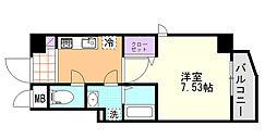 (仮)D-Room東高砂[203号室]の間取り