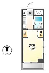BELLE TOPIA稲沢 2[2階]の間取り