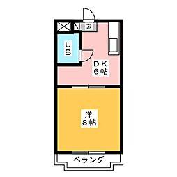 ステラハウス[2階]の間取り