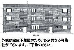 広島県広島市安佐北区可部3丁目の賃貸アパートの外観
