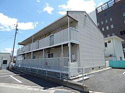 長野県長野市中御所3丁目の賃貸アパートの外観