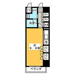 サムティ桜山RESIDENCE(旧エクセレント桜山)[3階]の間取り
