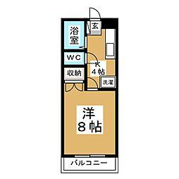 グレイスIII[2階]の間取り