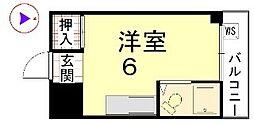 カーサ船岡山[308号室]の間取り