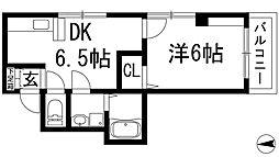 加茂ローゼンハイム[1階]の間取り