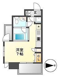 SK BUILDING-6(エスケービルディング)[7階]の間取り