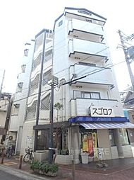 大阪府大阪市東住吉区北田辺2丁目の賃貸マンションの外観