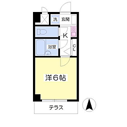 シンフォニー東大沼[1階]の間取り