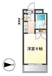 メゾン・ド・テオリー[2階]の間取り