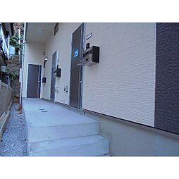 神奈川県横浜市神奈川区神之木台の賃貸アパートの外観