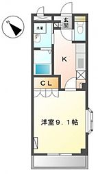 葉山レジデンス[201号室号室]の間取り