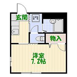 メゾン吉住[1階]の間取り