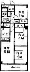 レジデンス甲子園口(2丁目)[305号室]の間取り