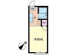 レジデンス ソフィア湘南[2階]の間取り