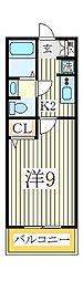 ディライトコート[2階]の間取り