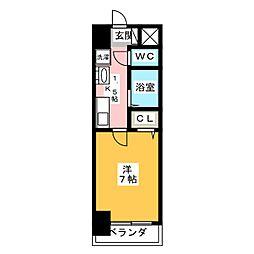 T's Dream新生[3階]の間取り