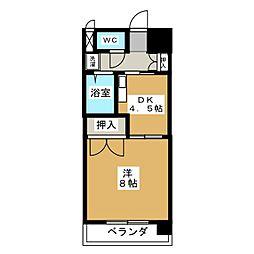 サザン名駅EAST[3階]の間取り