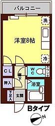 メゾン・ソレイユ長田[210号室]の間取り