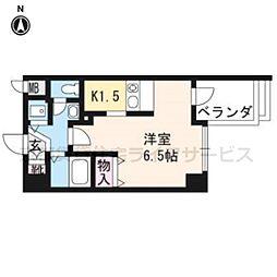 プレサンス京都三条大橋東山苑203[2階]の間取り