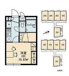 FUKAWAII[1階]の間取り
