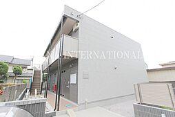 東京都調布市上石原2丁目の賃貸アパートの外観