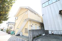 神奈川県相模原市中央区富士見2丁目の賃貸アパートの外観