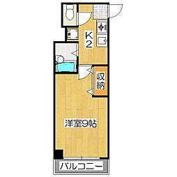 コンフォート桃山[2階]の間取り