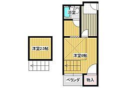 YTSマンション碓井[3階]の間取り